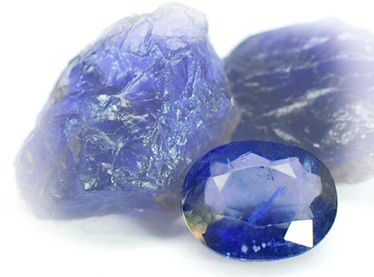 Иолит:  свойства и значение камня