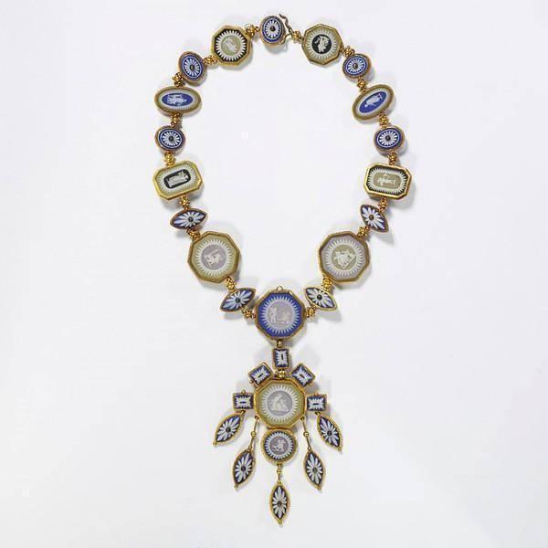 История ювелирного украшения ожерелья, от древних времён до наших дней