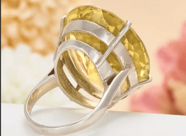 Как почистить цитриновое кольцо и украшения с цитрином, правильное использование