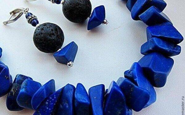 Лазурит:особенности его ношения, характеристика камня