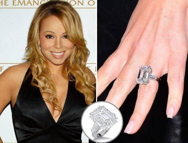 Самые знаменитые изумрудные бриллиантовые кольца в мире на знаменитостях