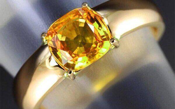 Желтый Сапфир: кому подходит, значения и свойства