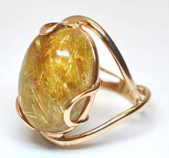 Золотой  Кварц: полезные свойства и характеристики
